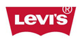 Red patch Levi's logo with white type