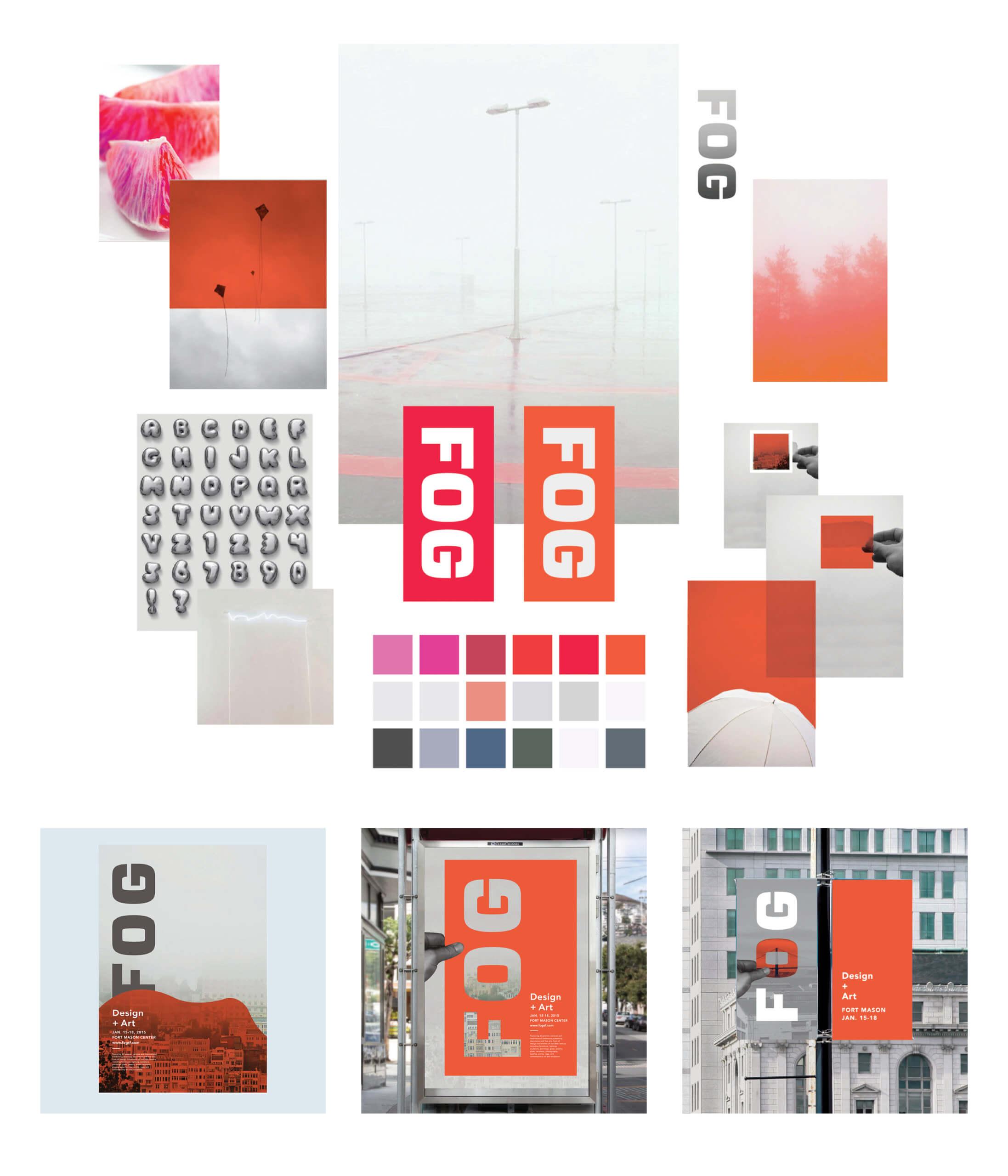 For Art + Design mood board 1