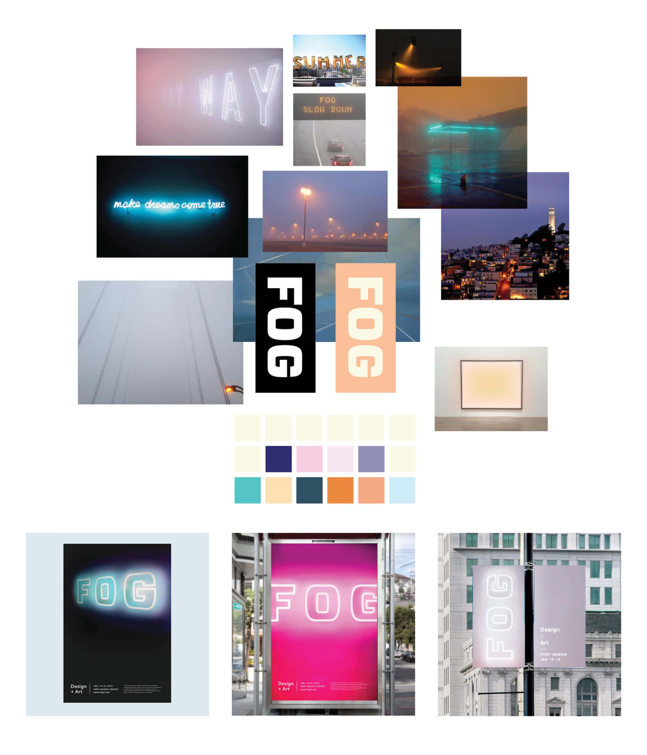 Fog Art + Design mood board 2