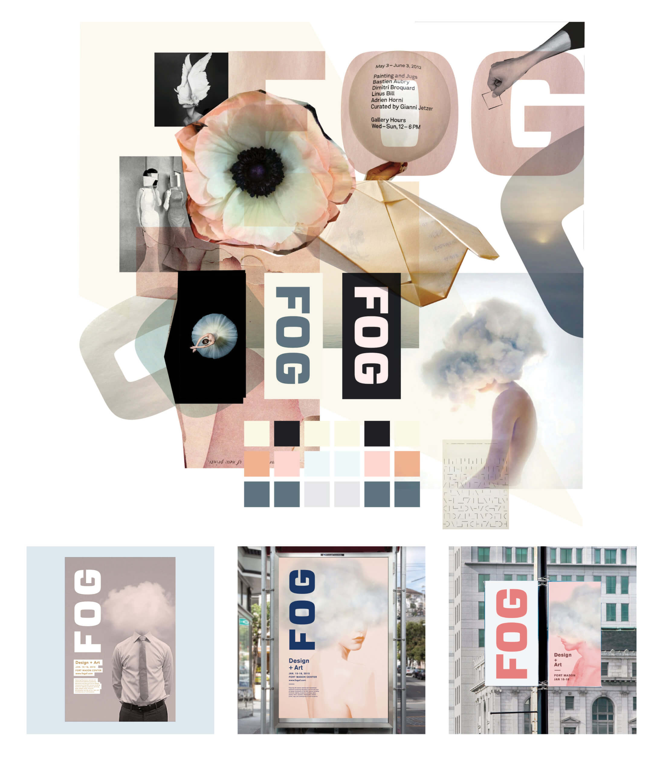 Fog Art + Design mood board 3